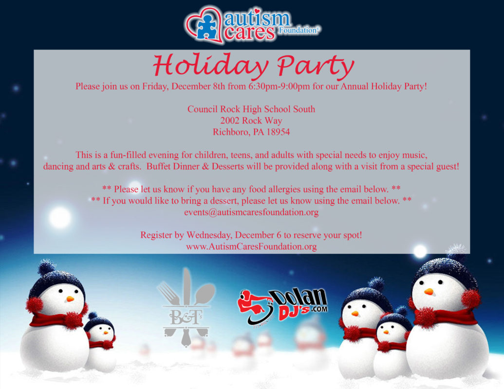Holiday Party @ Council Rock High School South | Southampton | Pennsylvania | United States