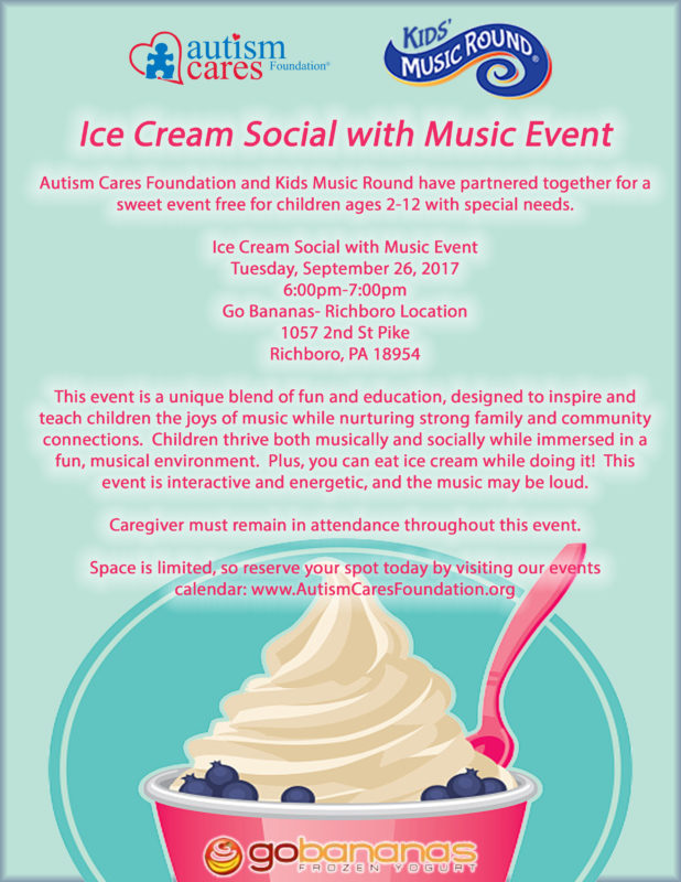 Ice Cream Social with Music! @ Go Banana's | Richboro | Pennsylvania | United States