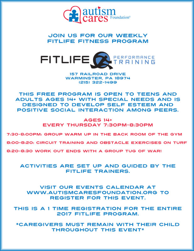 Fitlife Fitness Program @ Fitlife Performance Training | Warminster | Pennsylvania | United States