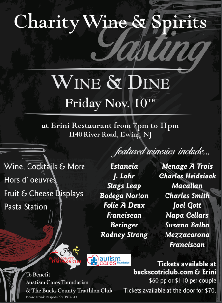 Wine & Dine Event @ Erini Restaurant | Ewing Township | New Jersey | United States