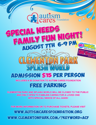 Special Needs Family Fun Night! @ Clementon Park & Splash World | Clementon | New Jersey | United States
