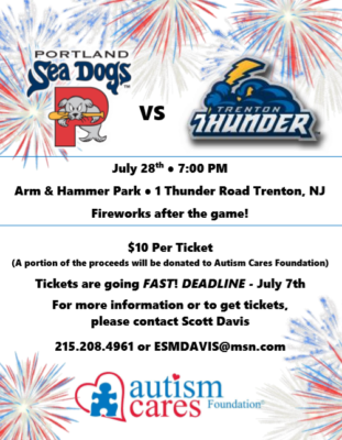 Trenton Thunder Game! @ Arm & Hammer Park | Trenton | New Jersey | United States