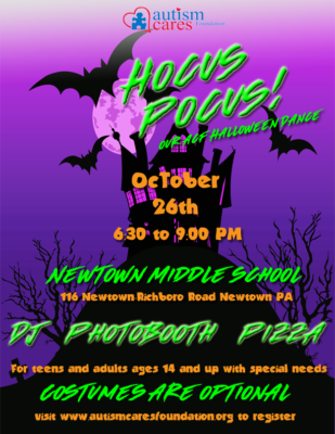 Hocus Pocus! The ACF Halloween Dance! @ Newtown Middle School | Newtown | Pennsylvania | United States