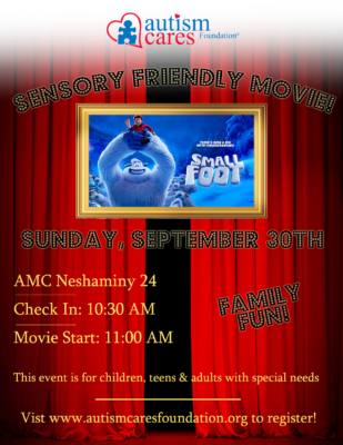 Sensory Friendly Movie: Smallfoot WAIT LIST @ AMC Neshaminy 24 | Bensalem | Pennsylvania | United States