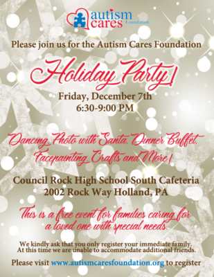ACF Holiday Party! @ Council Rock High School South | Holland | Pennsylvania | United States