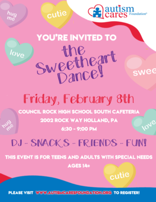 ACF Sweetheart Dance! @ Council Rock High School South - Cafeteria