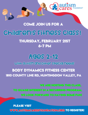 Children's Fitness Class @ Body Dynamics Fitness Center