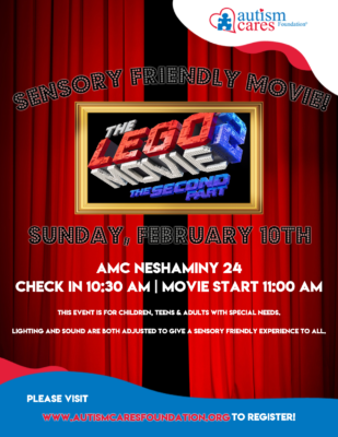 Sensory Friendly Movie: Lego Movie 2 -WAIT LIST- @ AMC Neshaminy 24
