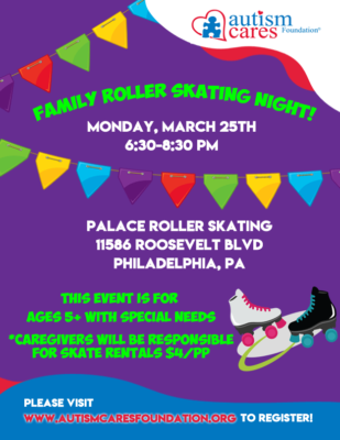 Family Roller Skating Night! @ Palace Roller Skating
