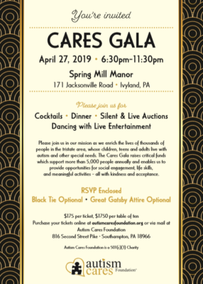 2019 CARES Gala @ Spring Mill Manor