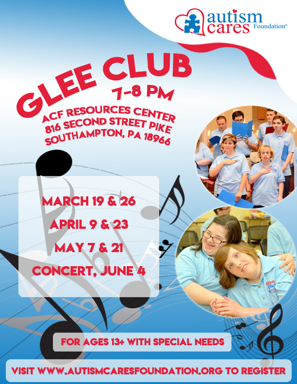 Spring Glee Club @ Autism Cares Foundation