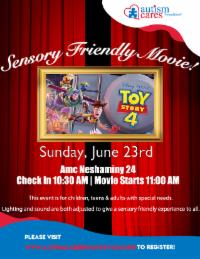 Sensory Friendly Movie - Toy Story 4 @ AMC Neshaminy 24