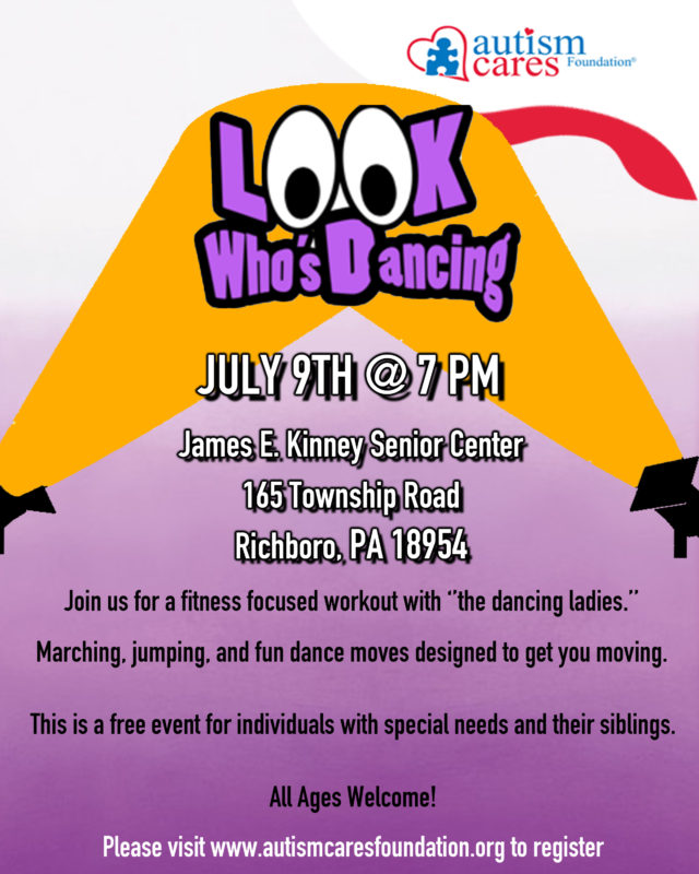 Look Who's Dancing - July 9 @ James Kinney Senior Center