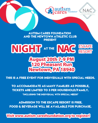 WAIT LIST- NAC Night @ Newtown Athletic Club