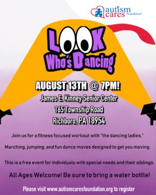 Look Who's Dancing - Oct 15th @ James E. Kinney Senior Center