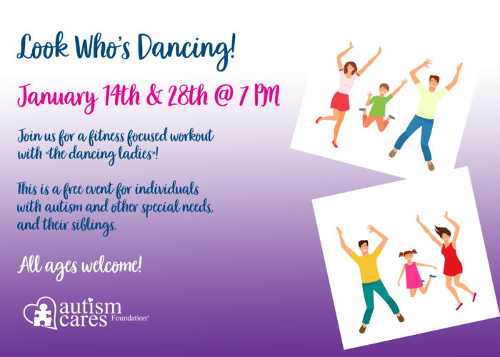 Look Who's Dancing - January @ James E. Kinney Senior Center