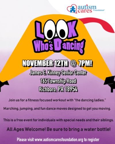 Look Who's Dancing - Nov 12 @ James E. Kinney Senior Center