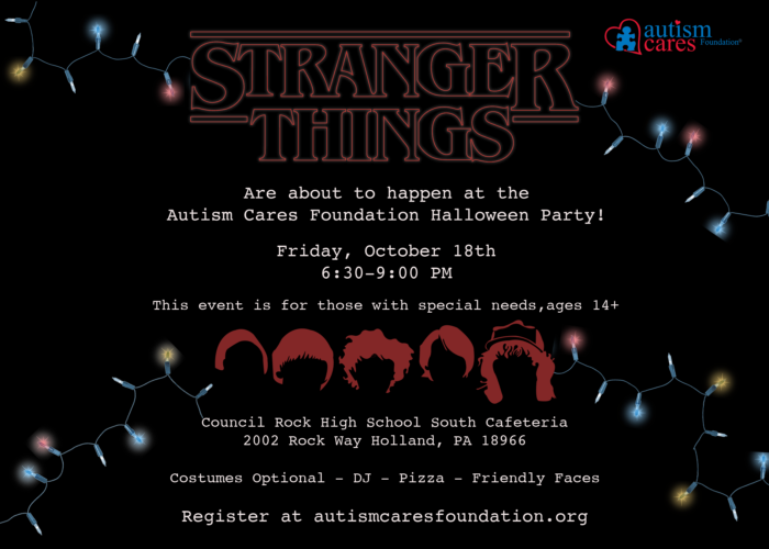 ACF Halloween Party - Stranger Things! @ Council Rock High School South - Cafeteria