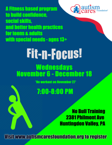 Fit-n-Focus! @ No Bull Training