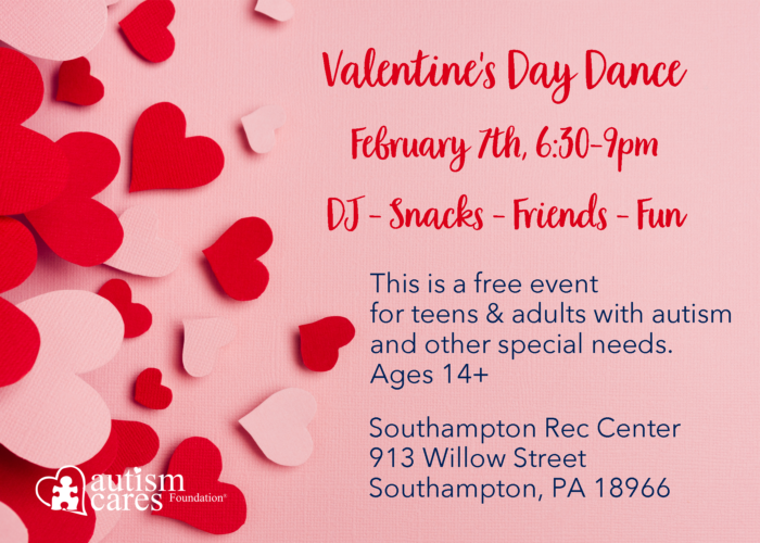 ACF Valentine's Day Dance @ Southampton Rec Center