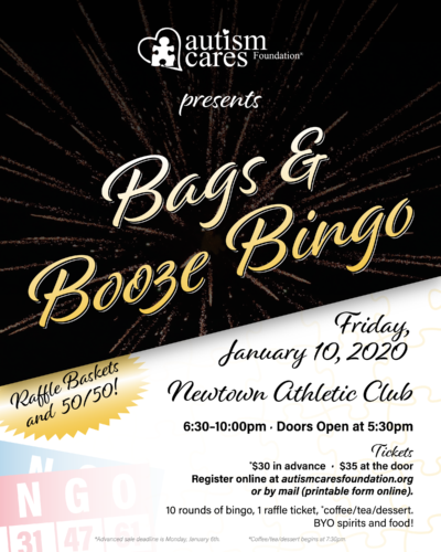 ACF BINGO! @ Newtown Athletic Club