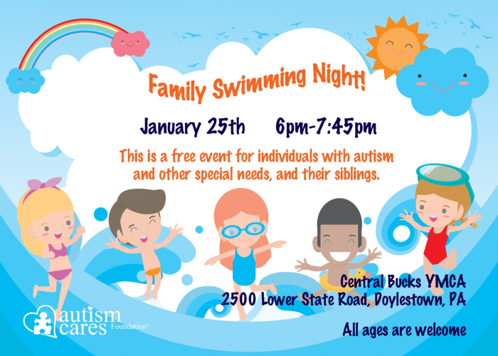 Family Swimming Night! (Wait List) @ Central Bucks YMCA