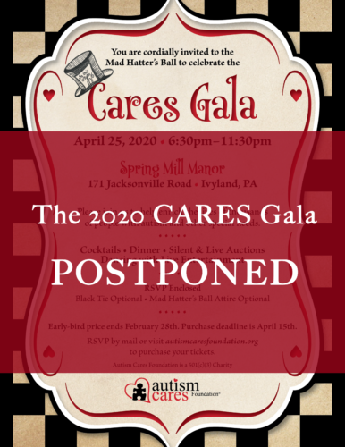 2020 CARES Gala - POSTPONED @ Spring Mill Manor
