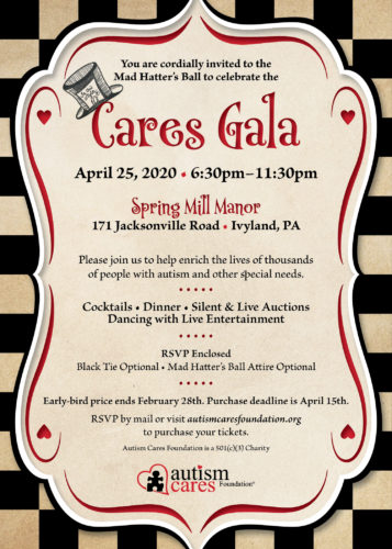 2020 CARES Gala - Mad Hatter's Ball @ Spring Mill Manor