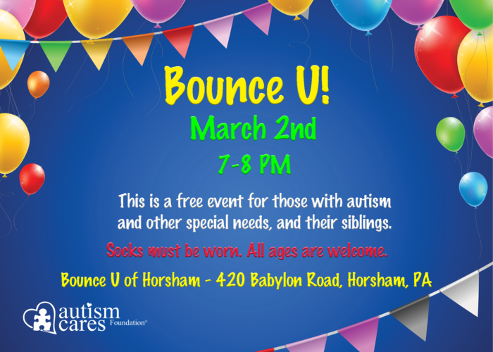 Bounce U - April @ Bounce U Horsham